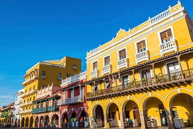 Historic Architecture in Cartagena