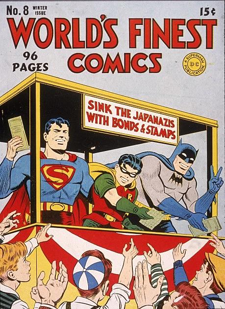 Superman, Batman and Robin Comic Book