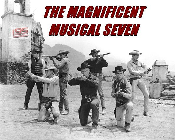 the magnificent musical seven the seven greatest classic rock cowboy songs. Black Bedroom Furniture Sets. Home Design Ideas