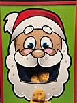 santa cookie toss