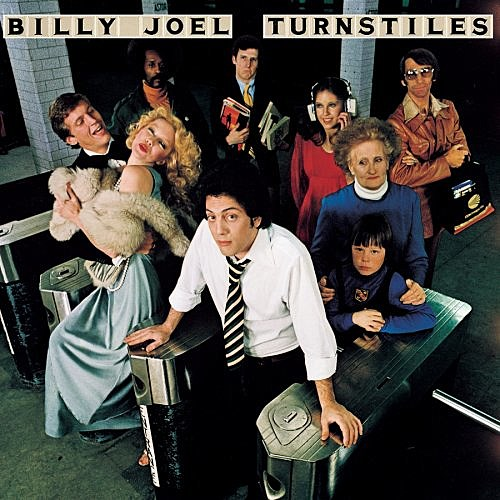 Billy Joel's 'Turnstiles' Album Cover Courtesy of Amazon.com
