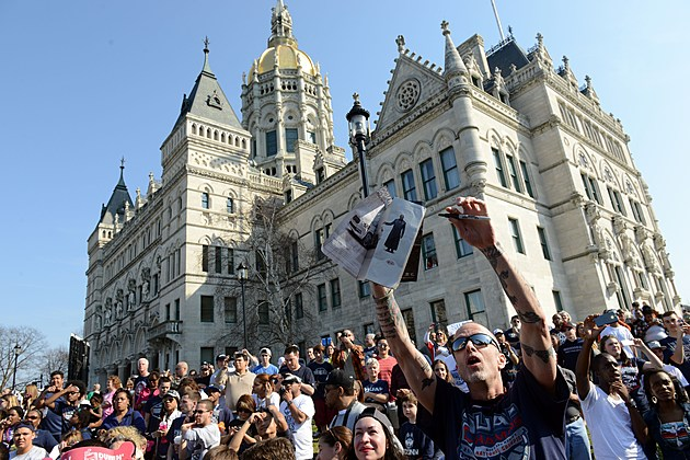 Connecticut Huskies Victory Parade