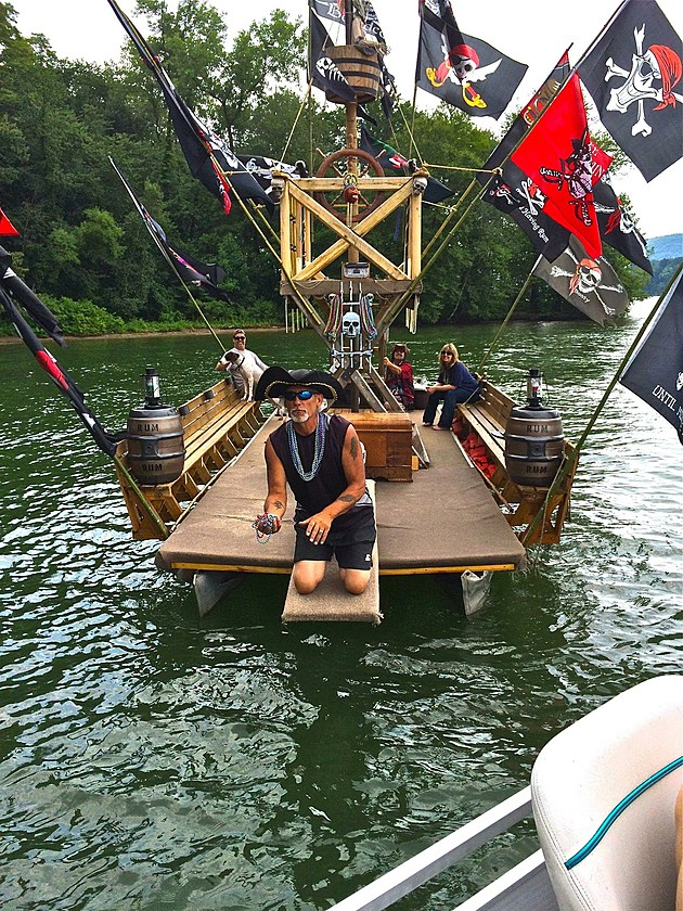 Candlewood Lake's Pirate Ship - Photo by Ethan