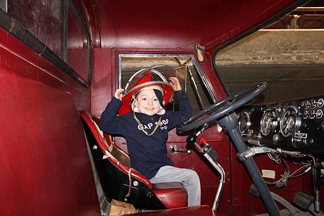 Fire Truck Boy