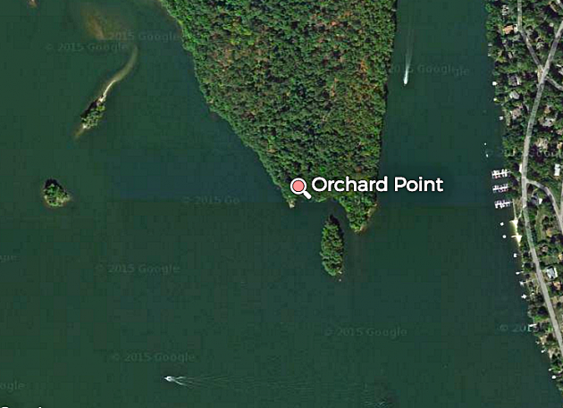 Orchard Point - Credit Google Instant Terrain View