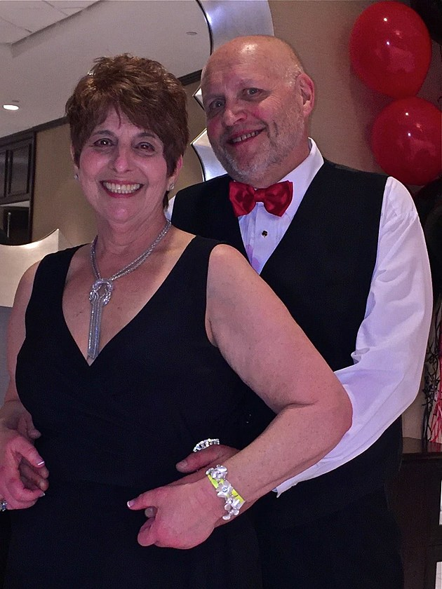 Mindy and Ethan at the E&L Second Chance Prom in May of 2016