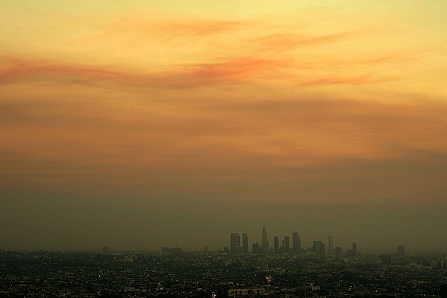 Southern California Wildfires Affect Air Quality In Los Angeles