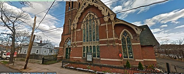 Iglesia de dios pentacostal in New Haven - Google Stretview