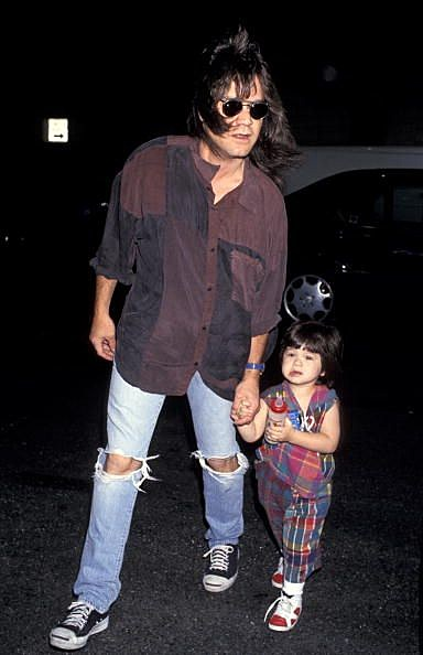 Edward Van Halen with son Wolfgang (Getty Images)